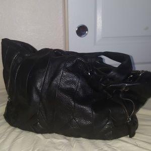 Large used Elliot Lucca  leather handbag
